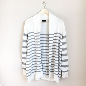 Oversized a.n.a. Striped Cardigan Sweater